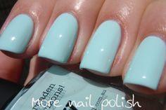 Picture Polish Pastels, Sky - pastel blue creme.