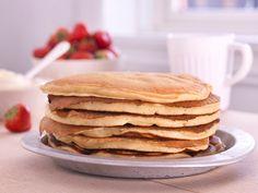 Sweet Recipes, Cake Recipes, Fika, Pancakes, Food And Drink, Menu, Sweets, Baking, Breakfast