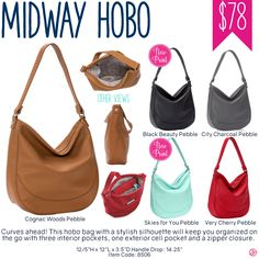 Thirty-One Midway Hobo Purse - Spring/Summer 2017