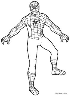 Printable Spiderman Coloring Pages For Kids | Cool2bKids | דפי צביעה ...