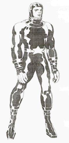 Jack Kirby - Silver Star