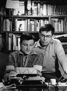Andrey Tarkovsky and Andrey Konchalovsky