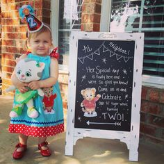 Our little Tiger turns 2! Karli's Daniel Tiger Party | CatchMyParty.com
