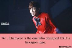 Exo facts. Another reason why he's awesome ^_^