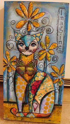 My Art Journal: Un nouveau tutoriel étape par étape pour 2015