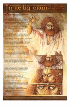 Michael Zulli IN RELIG ORAN print