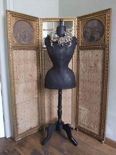 #mannequin #dressform #antique #paspop
