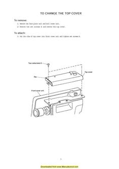 Janome MyLock 134D Sewing Machine Instruction Manual