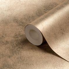 Muriva Foil Texture Gold Effect Wallpaper | Departments | DIY at B&Q