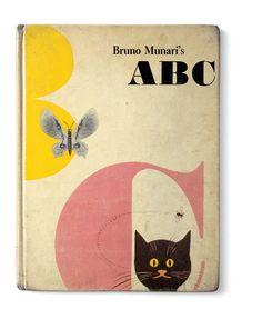 Bruno Munari's ABC — image credit: Cleveland: World Publishing Company, 1960