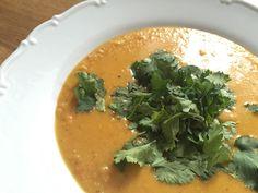 Polévka z ČERVENÉ ČOČKY - indický DÁL