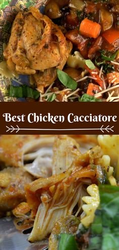 Amazing Chicken Cacciatore Recipes Just For You. Turkey Food, Turkey Recipes, Chicken Recipes, Cacciatore Recipes, Chicken Cacciatore, Healthy Stuffed Chicken, Chinese Chicken, Broccoli, Dinner Ideas