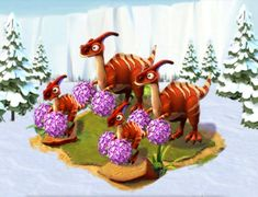 Ice Age Village..... Familia Felizosaurio