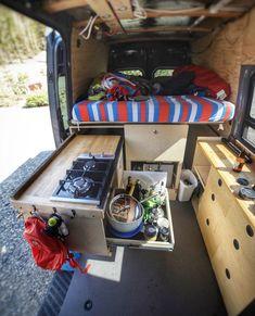 Best 49 Inspirations from Life Interior Ideas - VW Camper Interior Ideas - . - Best 49 Inspirations from Life Interior Ideas – VW Camper Interior Ideas – … - Vw Camper, Camper Life, Van Life, Caravelle T5, Van Kitchen, Kitchen Decor, Kitchen Interior, Camper Equipment, Kangoo Camper