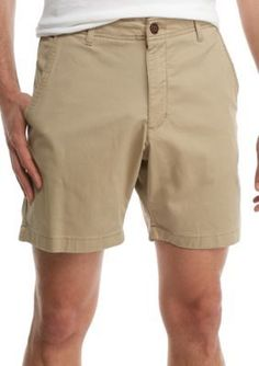 Red Camel  7-in Flat Front Stretch Shorts