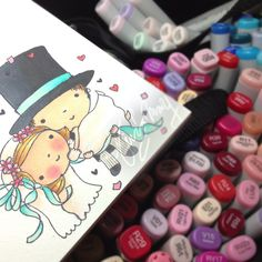 Color using Copic Sketch Marker