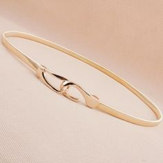 562 moda ouro corrente de metal elástico primavera verão feminino e mulheres breve fino tudo match cinto feminino