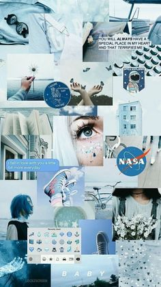 Blue Wallpaper Iphone, Iphone Wallpaper Tumblr Aesthetic, Locked Wallpaper, Aesthetic Pastel Wallpaper, Tumblr Wallpaper, Girl Wallpaper, Galaxy Wallpaper, Wallpaper Backgrounds, Aesthetic Wallpapers