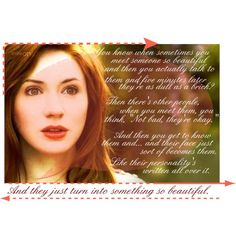 Amelia Pond: The Girl Who Waited, created by crazycreamsicle on Polyvore
