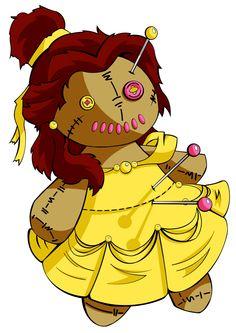 Voodoo Belle by Hummingbird26.deviantart.com on @DeviantArt