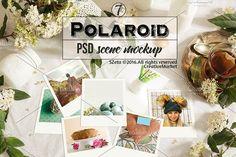 Polaroid stock images, teatime by SZeta on @creativemarket