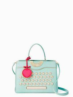be mine typewriter satchel by kate spade new york