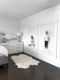 Ways To Embellish Your Kids Bedroom - home - Bedroom Home Bedroom, Master Bedroom, Bedroom Decor, Bedroom Black, Bedroom Kids, Ikea Bedroom Design, Apartment Bedrooms, White Bedrooms, Bedroom Prints