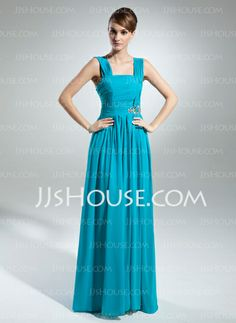 Mother of the Bride Dresses - $132.99 - A-Line/Princess Strapless Floor-Length Chiffon Mother of the Bride Dress With Ruffle Beading (008015531) http://jjshouse.com/A-Line-Princess-Strapless-Floor-Length-Chiffon-Mother-Of-The-Bride-Dress-With-Ruffle-Beading-008015531-g15531