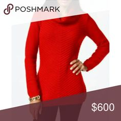 Coming Soon Style & Co. Red Cowl Neck Sweater Price will be lowered to $30 once available  Color new red amour Ribbed, cowl neck 60% cotton, 40% acrylic Style & Co Sweaters Cowl & Turtlenecks