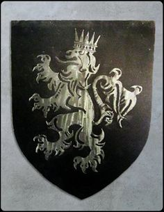 """""""Our daughter gave us this beautiful family crest as a thank you for her wedding. We were amazed to see how you built it with such incredible detail. It will hang proudly in our new billiard room and as a constant reminder of my family heritage and of our little girl's perfect wedding day."""" - Jack O. #familycrest #metal #steel #custom #shinymetalobjects #happycustomer #riggodesign www.riggodesign.com"""