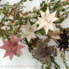 DIY STAR : DIY Making German Paper Stars