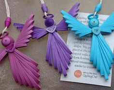 Quilled Angel 2 by QuillingOwl on Etsy