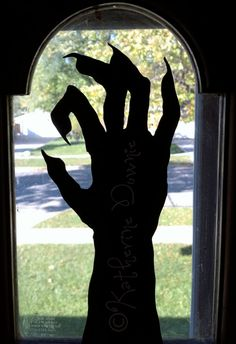 Halloween Silhouettes Set 3 by kathartist on Etsy