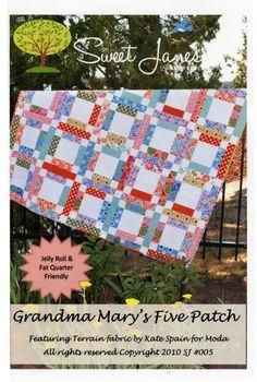 Grandma Mary's Five Patch By Pfau, Susan