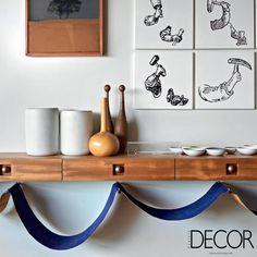 Itens em madeira exalam elegância e charme para o ambiente contemporâneo