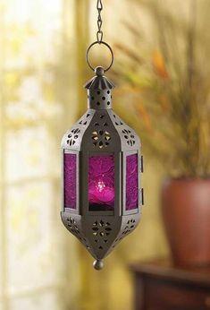 "$12.95 10"" high - Mystical Candle Lantern"
