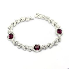Genuine Austrian Crystal Luxurious Austrian Crystal Stellux Bracelet | Stylish Beth
