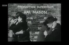 Hue and cry opening titles. 1940s post war london, ealing studios.