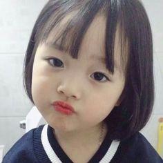 Cute Asian Babies, Korean Babies, Asian Kids, Cute Babies, Cute Baby Meme, Baby Memes, Cute Baby Girl Pictures, Baby Photos, Cute Little Girls