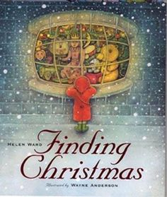 "Best Children's Christmas Picture Books  By Elizabeth Kennedy: The slightly eerie atmosphere created by Wayne Anderson's illustrations add a delightful tension to Helen Ward's picture book Finding Christmas. The little girl in a bright red coat and bright green boots is the only bright note in the somber snow clad town as she wanders at dusk from shop to shop. She is looking for ""the perfect present to give to someone special."" Things look hopeless until she is drawn to the bright window of…"
