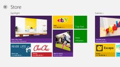 Windows 8 Store - Main page Windows 8, Exciting News, Helping People, Microsoft, Back To School, Branding, Learning, Operating System, Fans