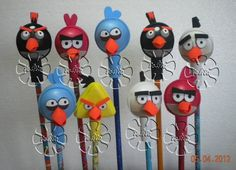 angry bird lapices