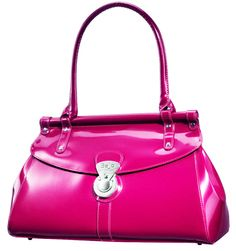Trendsetter (Fuchsia) || Dimensions: 16″ L x 5.5″ W x 10″ H - Strap Length: 8.5″ - Opening: 3″ - Trim Colors: None - SRP: $115.00 - Available In: Ebony, Fuchsia, Lipstick Red, Marina Blue, Chocolate