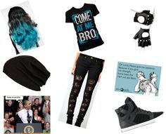 """come at me bro or yhu get laid out PERIOD"" by niyaperez12 ❤ liked on Polyvore"