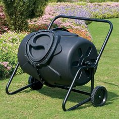 KoolScapes Wheeled Tumbling Composter, 50-Gallon Read more  at the image link.