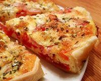 Tarte légère à la tomate