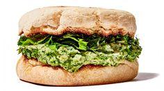 Green Goddess Tuna Salad Sandwich