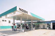「日本石油サービスステーション」サイン計画