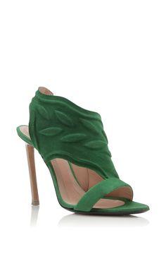 sports shoes f0e38 da5fb SHOES · Roland Mouret Spring Summer 2016 - Preorder now on Moda Operandi  Sandales À Talons, Vert
