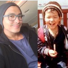 Now & Then <3 <3 <3 <3 <3 As a kid, Daniel was already a cutie, now as an adult is a HOTTIE <3 <3 <3 <3 <3 <3 Credit: Twitter